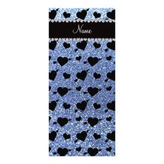 Luz conhecida feita sob encomenda - setas azuis do 10.16 x 22.86cm panfleto