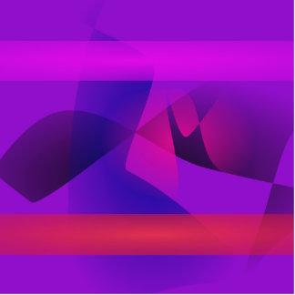 Luz de néon roxa esculturafotos