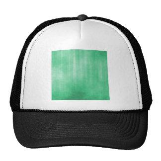 Luz - design listrado verde do Grunge Boné