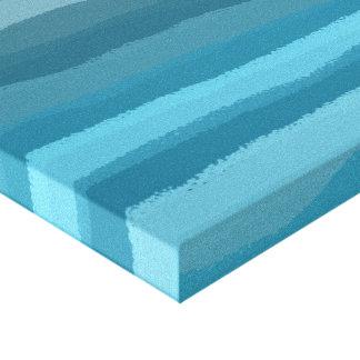 Luz do Aqua Impressão De Canvas Esticadas