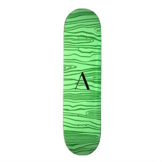 Luz do monograma - bois verdes do falso skate