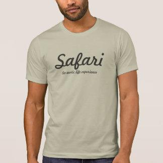 Luz do safari - cinza tshirts