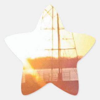 Luz do sol da manhã adesito estrela