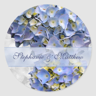 "Luz - etiqueta azul dos Hydrangeas, ""alfa """