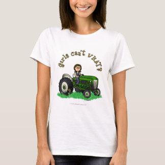 Luz - fazendeiro verde camiseta