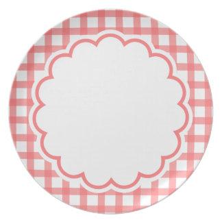 Luz - flor cor-de-rosa prato