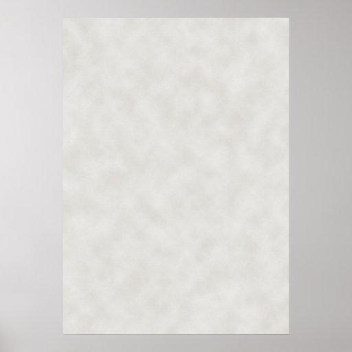Luz - fundo cinzento da textura do pergaminho posteres