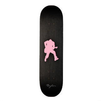 Luz - guitarrista cor-de-rosa skate boards