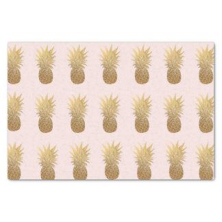 Luz - lenço de papel cor-de-rosa do abacaxi do
