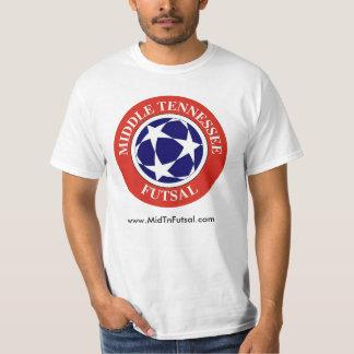 Luz média de Tennessee Futsal Camiseta