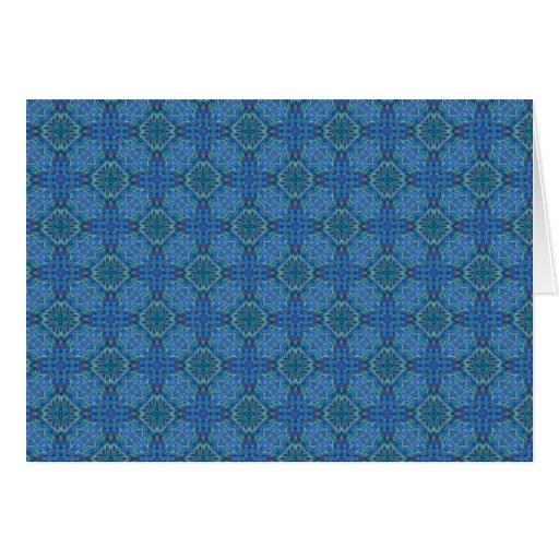 Luz - papel de parede holográfico azul cartão