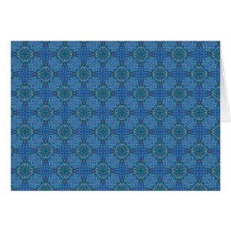Luz - papel de parede holográfico azul cartão comemorativo