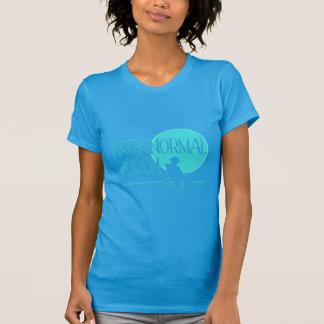 Luz Paranormal do patamar das senhoras - logotipo Tshirt