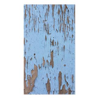 Luz - pintura azul da casca cartões de visitas