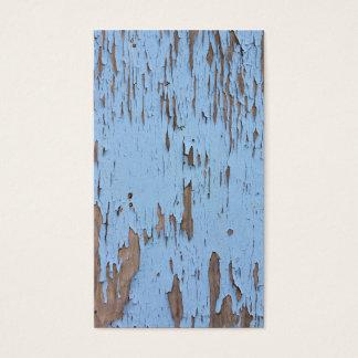 Luz - pintura azul da casca cartão de visitas