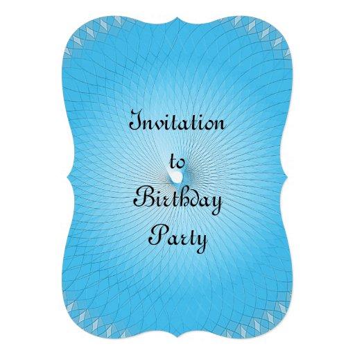 Luz - Plafond azul Convites