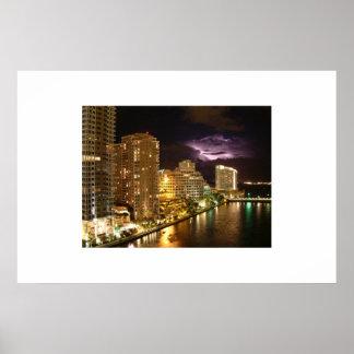 Luz sobre Miami Poster