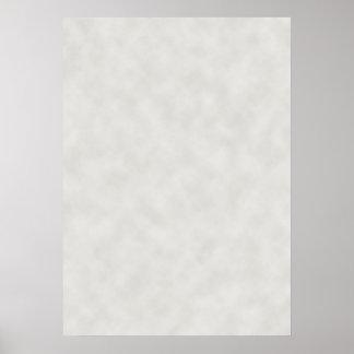 Luz - textura cinzenta do pergaminho pôster