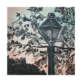 Luz urbana da decoração da arte moderna abstrata d impressão de canvas esticadas