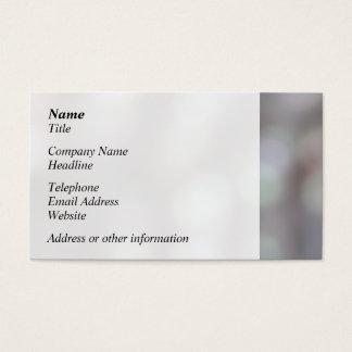 Luzes abstratas em cores macias cartão de visitas