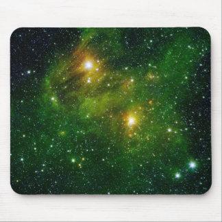 Luzes brilhantes mouse pads