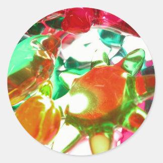 Luzes coloridas adesivo