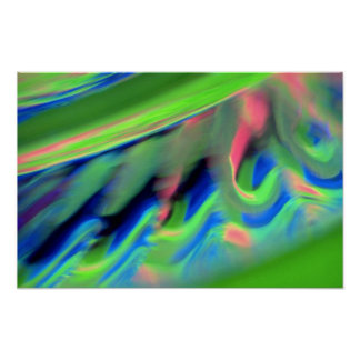 Luzes coloridas do carrossel posters