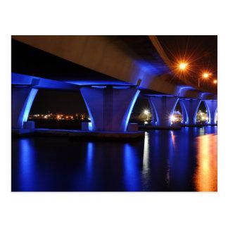 Luzes da noite em Miami - cartão Cartão Postal