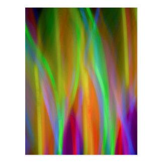 Luzes de néon - cartão vazio