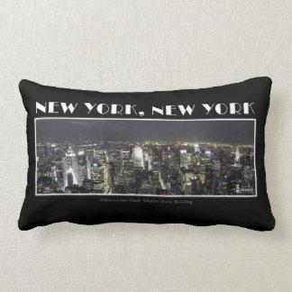 Luzes do travesseiro da Nova Iorque Almofada Lombar