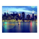 Luzes mágicas - o melhor cartão dos cumprimentos cartões postais
