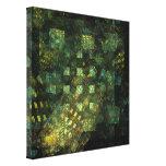 Luzes no impressão das canvas do abstrato da cidad impressão em tela canvas