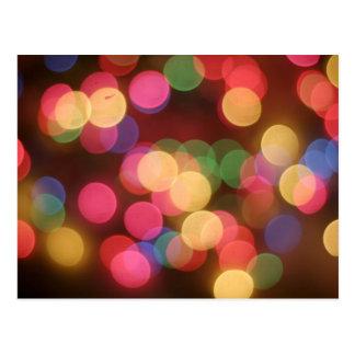 Luzes Sparkling 4 Cartao Postal