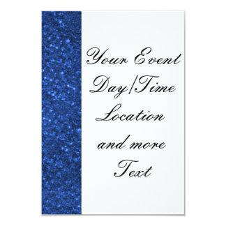 luzes sparkling azuis convite personalizados