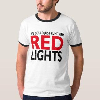 Luzes vermelhas tshirt