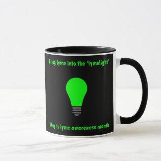 Lyme crônico é caneca de café real