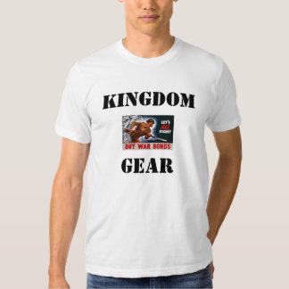 m1-poster2, REINO, ENGRENAGEM T-shirts