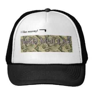 M&D Mulla! Mini chapéu da imagem Boné
