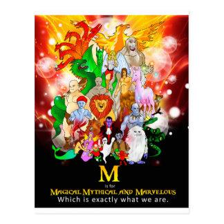 M é para o cartão Mythical