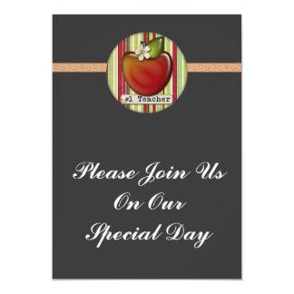 maçã do professor #1 convite personalizados