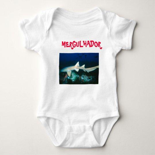 Macacão Bebê Mergulhador Body Para Bebê