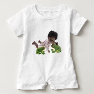 Macacão Para Bebê 519 Sasha Cara Black bebé