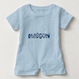 Macacão Para Bebê A bandeira escocesa de Glasgow Scotland colore a