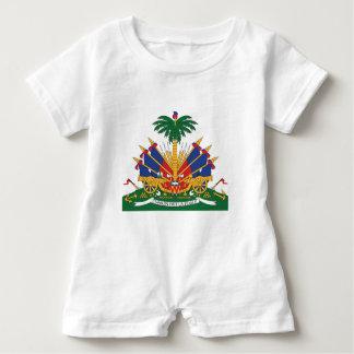 Macacão Para Bebê A brasão de Haiti