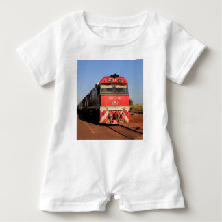 Macacão Para Bebê A locomotiva do trem de Ghan, Darwin