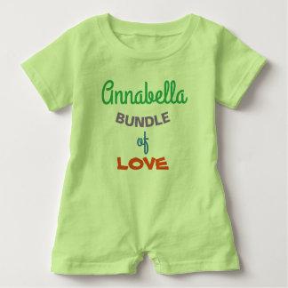Macacão Para Bebê A roupa personalizada a mais bonito do bebê dos