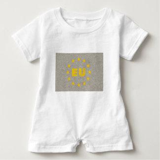 Macacão Para Bebê A UE concreta embandeira