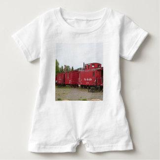 Macacão Para Bebê Acomodação da carruagem do trem do vapor, arizona