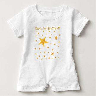 Macacão Para Bebê Alcance para as estrelas
