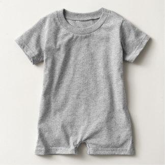 Macacão Para Bebê Âncora cinzenta